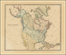 North America Map By Allan Bell & Co.