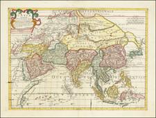 Asia Map By Paolo Petrini