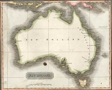 Australia & Oceania and Australia Map By Aaron Arrowsmith