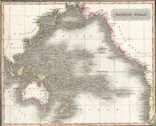 World, Australia & Oceania, Pacific and Oceania Map By Aaron Arrowsmith