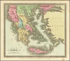 Balkans, Greece, Turkey and Balearic Islands Map By David Hugh Burr