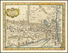 Egypt Map By Philipp Clüver