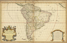South America Map By William Berry
