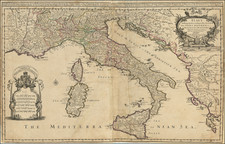 Italy Map By William Berry