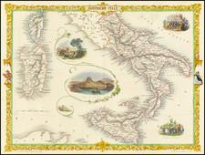 Southern Italy  [Sicily, Sardinia, Corsica] By John Tallis