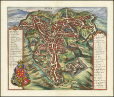 Other Italian Cities Map By Matheus Merian