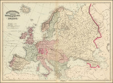 Europe Map By Asher & Adams