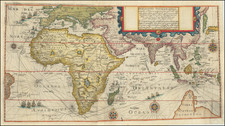 Descriptio Hydrographica accomodata ad Battavorum navagatione Javam Insula Indiae Orientalis . . . 1595 . . . 1597 . . . By Theodor De Bry