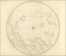 Polar Maps Map By British Admiralty