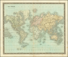 World Map By Henry Teesdale