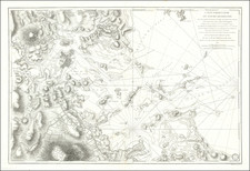 Massachusetts, Boston and American Revolution Map By Antoine Sartine