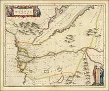Egypt Map By Johannes Blaeu