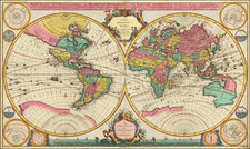World Map By Cornelis Mortier
