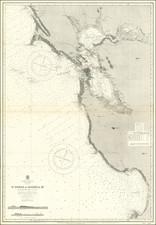 California and San Francisco & Bay Area Map By U.S. Coast Survey