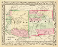 Arizona and New Mexico By Samuel Augustus Mitchell Jr.