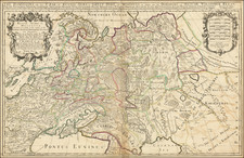 Poland and Russia Map By William Berry