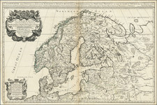 Scandinavia Map By William Berry