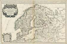 Scandinavia Map By William Berry