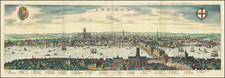London By Matthaeus Merian