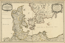 Sweden and Denmark Map By William Berry