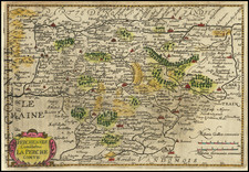 France Map By Jodocus Hondius / Michael Mercator