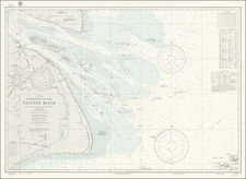 China Map By U.S. Navy Hydrographic Office
