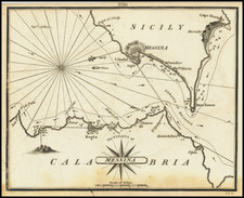 Southern Italy Map By William Heather