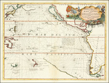 Australia & Oceania, Pacific, Australia, Oceania, New Zealand and Hawaii Map By Vincenzo Maria Coronelli
