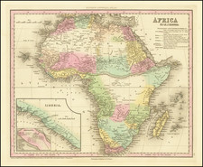 Africa Map By Henry Schenk Tanner