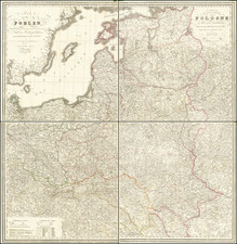 Poland and Baltic Countries Map By Stanislaus Rendziny