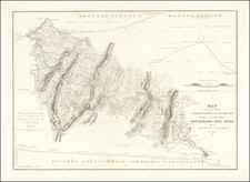 Mid-Atlantic, Pennsylvania and Maryland Map By United States War Dept.