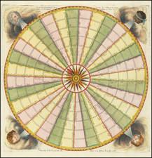 Celestial Maps and Curiosities Map By Antoine De Fer