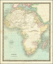 Africa Map By Henry Teesdale