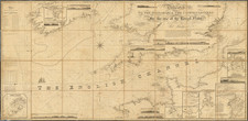 England and France Map By Blachford & Co.