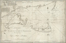 New England and Massachusetts Map By John Norman