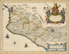 Nova Hispania et Nova Galicia By Willem Janszoon Blaeu