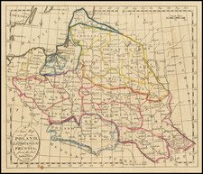 Poland and Baltic Countries Map By Alexander Aitchison