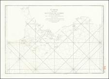 China and Hong Kong Map By Jean-Baptiste-Nicolas-Denis d'Après de Mannevillette