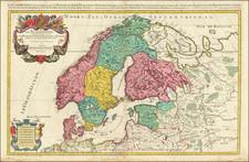 Scandinavia Map By Alexis-Hubert Jaillot