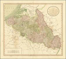 Netherlands Map By John Cary