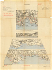 France, World War II and Fair Map By 19th Field Survey Company