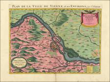Austria Map By Pierre Mortier