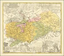 Germany Map By Homann Heirs / Friedrich Zollmann