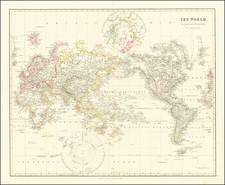 World Map By John Arrowsmith