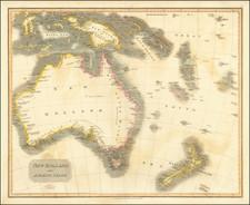 Australia Map By John Thomson