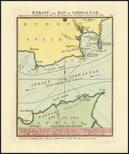 Gibraltar Map By John Luffman