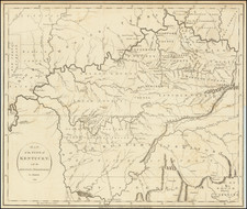 Kentucky, Tennessee and Ohio Map By John Russell