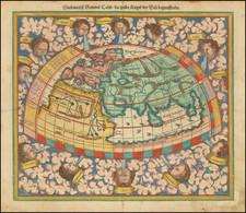 World Map By Sebastian Munster