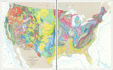 United States Map By U.S. Geological Survey