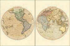 World Map By John Thomson